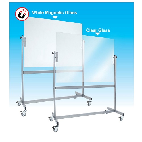 Space Mobile Glassboards Clear Boards Direct Free Delivery